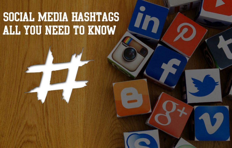 socail media hashtags