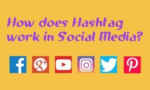 social media hash tags